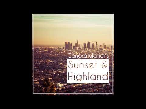 Congratulations (Acoustic) - Sunset & Highland