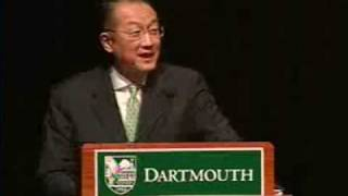 Introduction of Jim Yong Kim as 17th President of Dartmouth College