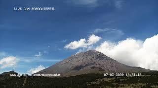 Transmisión del Volcán Popocatépetl Junio 2020