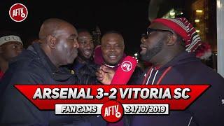 Arsenal 3-2 Vitoria SC | Pepe & Martinelli Took Pressure Off Emery! (Kelechi & Bankulli)