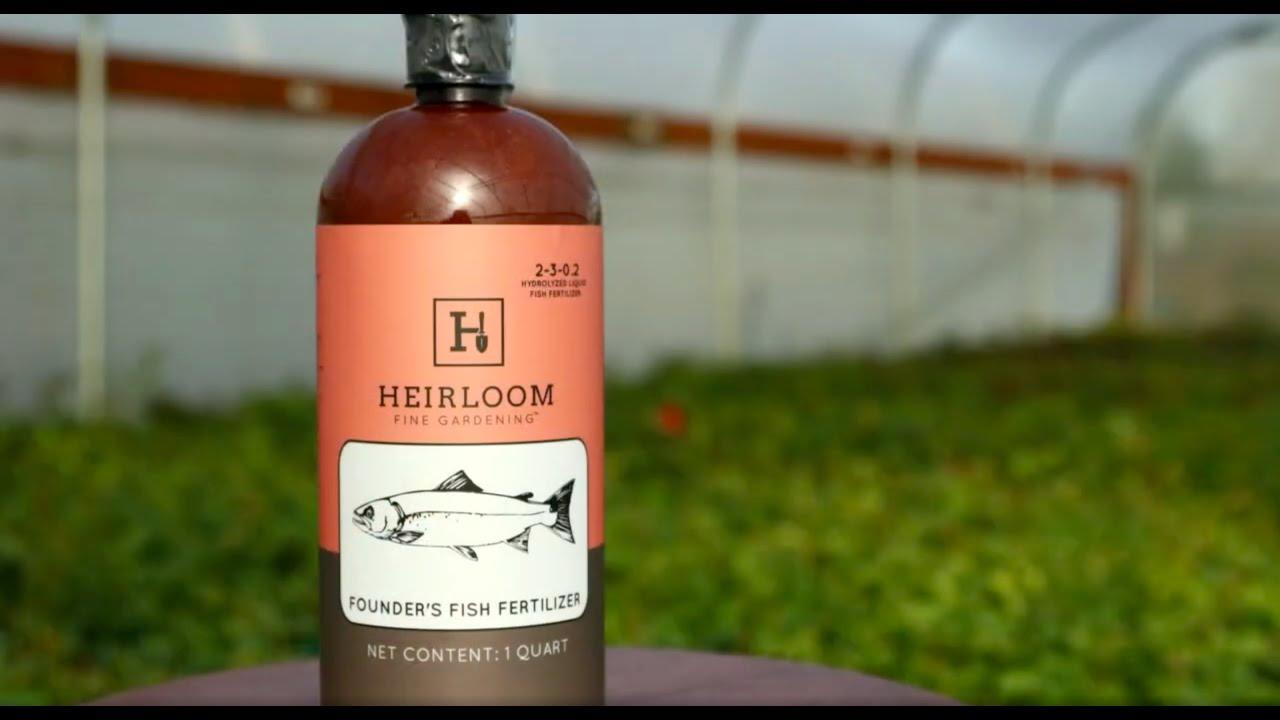Heirloom Roses Founders Fish Fertilizer