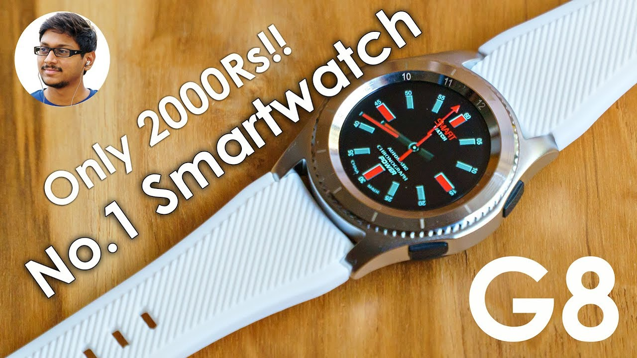 b810f981b78 No.1 Smartwatch for only 2000Rs! - YouTube