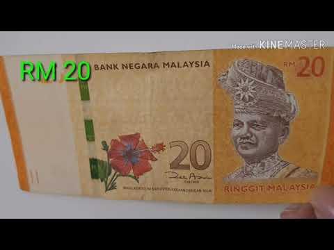 Uang Kertas 20 Ringgit Malaysia (RM)