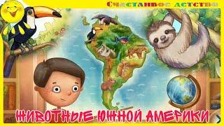 Животные Африки! Развивающее видео для детей