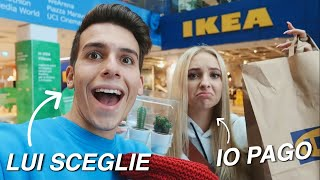 SHOPPING ALL' IKEA✨ STEFANO SCEGLIE, IO PAGO|| vlog, Oks Dane