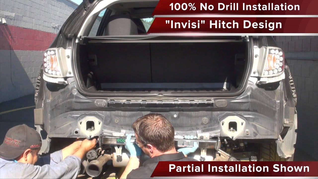 20082014 Subaru WRX STI Hatchback Invisi EcoHitch Installation