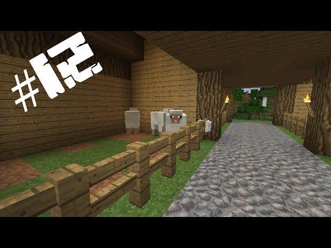 Играем в Minecraft 1.7.9 серия #12 (СТРОИМ ФЕРМУ ЖИВОТНЫХ)