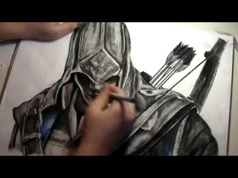 Assassins Creed 3 Рисование Коннора