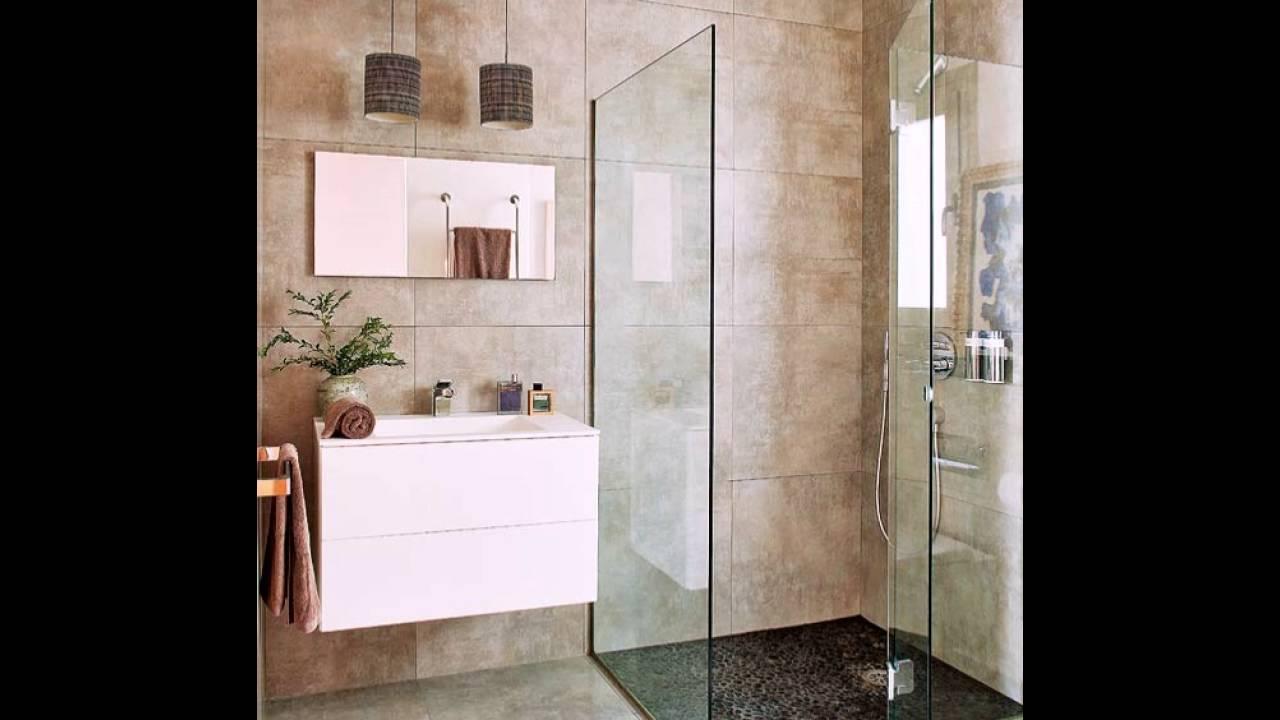 Moderne Badezimmer mit Dusche - YouTube