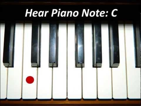 Hear White Piano Keys - All 52 Notes
