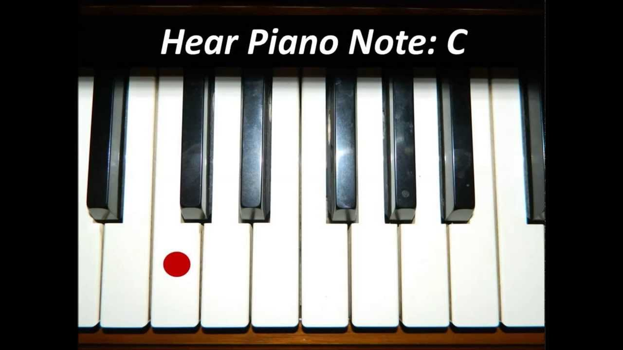 Hear White Piano Keys - All 52 Notes - YouTube
