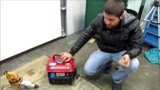 видео Инверторный бензогенератор DDE DPG2101i
