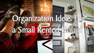 [Interior Decor] 5 Organization Ideas For a Small Rented House