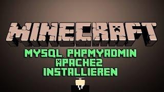 Minecraft Mysql PhPMyAdmin Apache2 Installieren (Root Server, VServer)