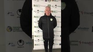 Cabinteely FC Director of Football Pat Devlin