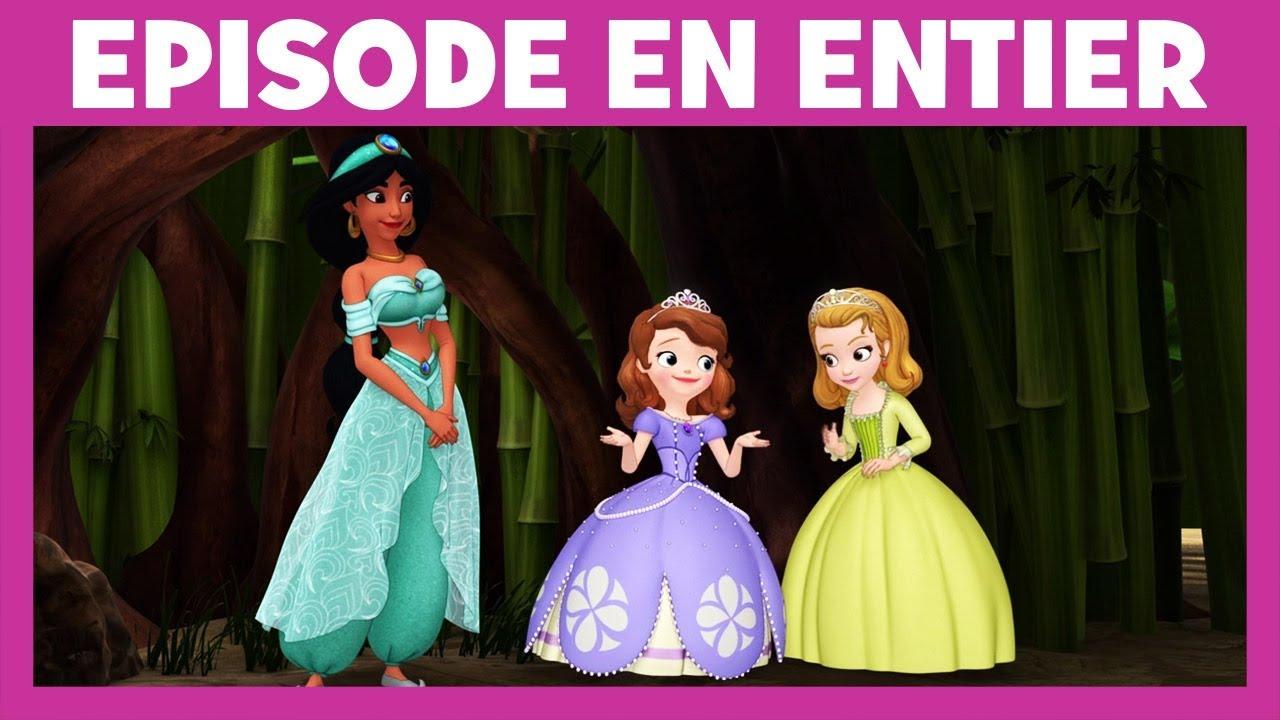 Princesse Sofia Moment Magique Jasmine Aide Sofia Et Ambre A