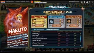 Naruto Online:I GOT JONIN MEDAL FREE