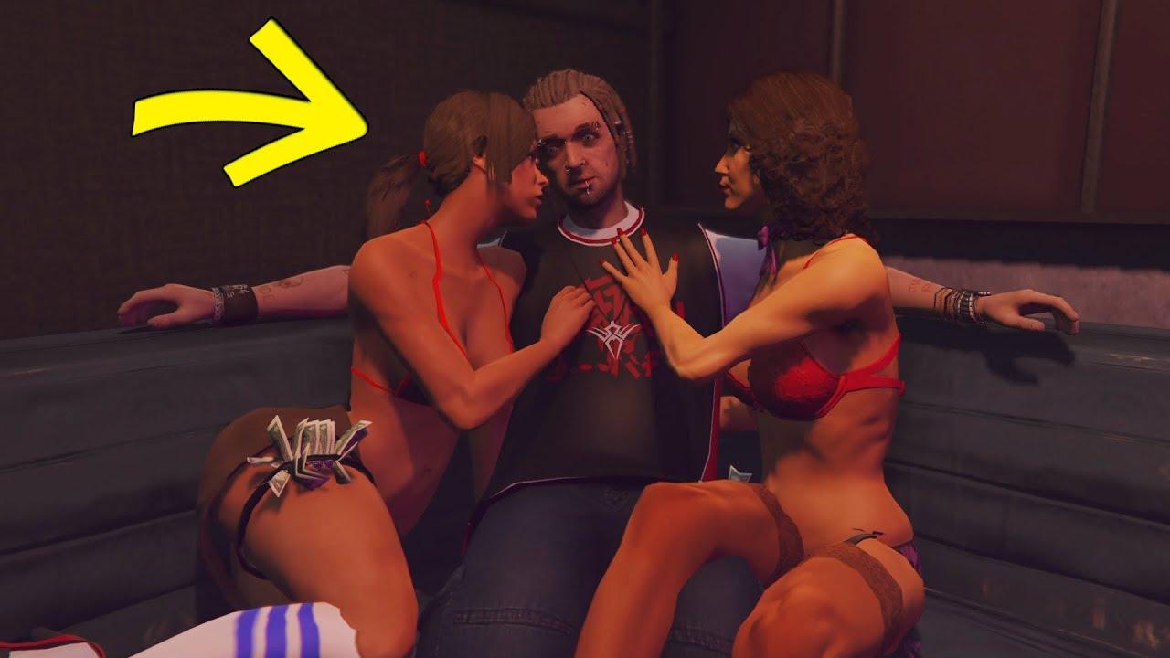 secret pourquoi wade est toujours au club de strip tease gta 5 youtube. Black Bedroom Furniture Sets. Home Design Ideas