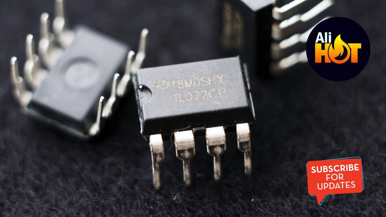 TL072CP TL072 Low Noise JFET Dual Op-Amp DIP-8 - Aliexpress unboxing (Quick  Look)