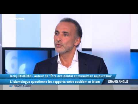 TV5MONDE : le philosophe  et islamologue Tariq Ramadan, invité du 64 minutes
