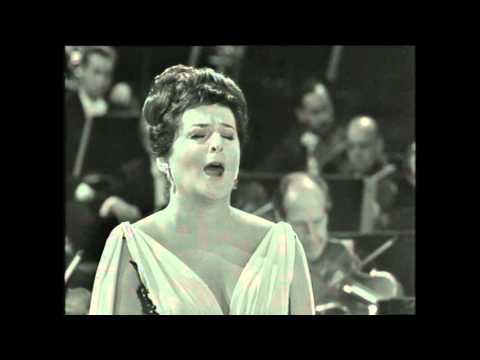 Birgit Nilsson Stockholm 1964
