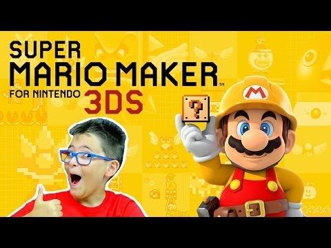 SUPER MARIO MAKER 3DS - Leo Toys