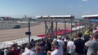 Max Verstappen Crash Silverstone British GP 2021 - Full Video HD