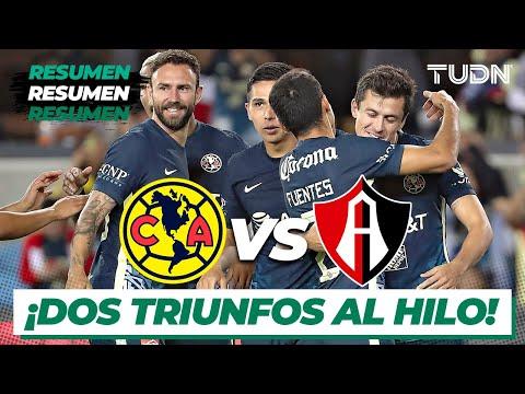 Resumen y goles | América vs Atlas | Tour Águila 2021 | TUDN