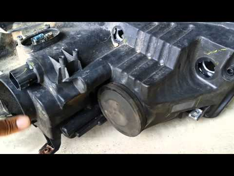2009 Lincoln MKZ Headlight assembly repair