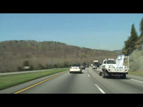 Tennessee: I-24 West Chattanooga to Monteagle