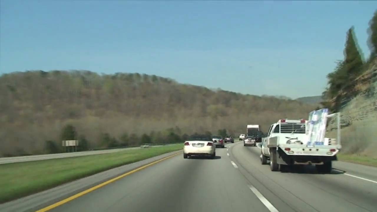 Tennessee I 24 West Chattanooga To Monteagle Youtube