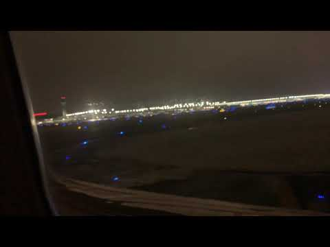 United Airlines Boeing B757 Landing At Chicago O'Hare International Airport