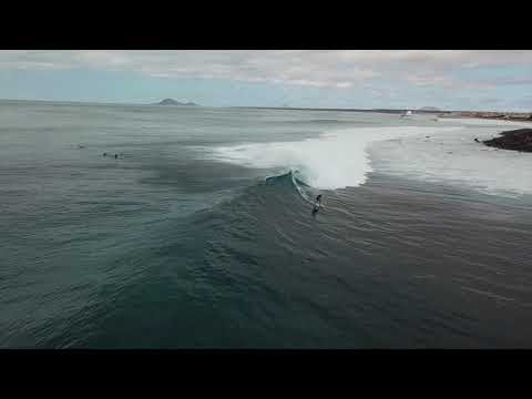 SAL, CAPE VERDE - Surfing Ponta Preta + Island tour filmed with drone