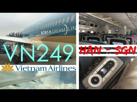 Vietnam Airlines VN249 : Flying from Hanoi to Ho Chi Minh City