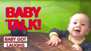 Babies Talking For The First Time | CUTE Babies That Will Make You Say Awww!