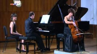 Jankovic - Lecic: Beethoven Cello Sonata No.4 in C major, Op.102, No.1 (Mov 2)