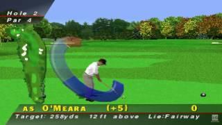 PGA Tour 96 PS1 Gameplay HD