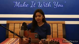 Download lagu Make It With You by Bread/Ben&Ben (Acoustic Cover with Lyrics)