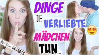 10 DINGE DIE MÄDCHEN TUN WENN SIE VERLIEBT SIND! | LaurenCocoXO