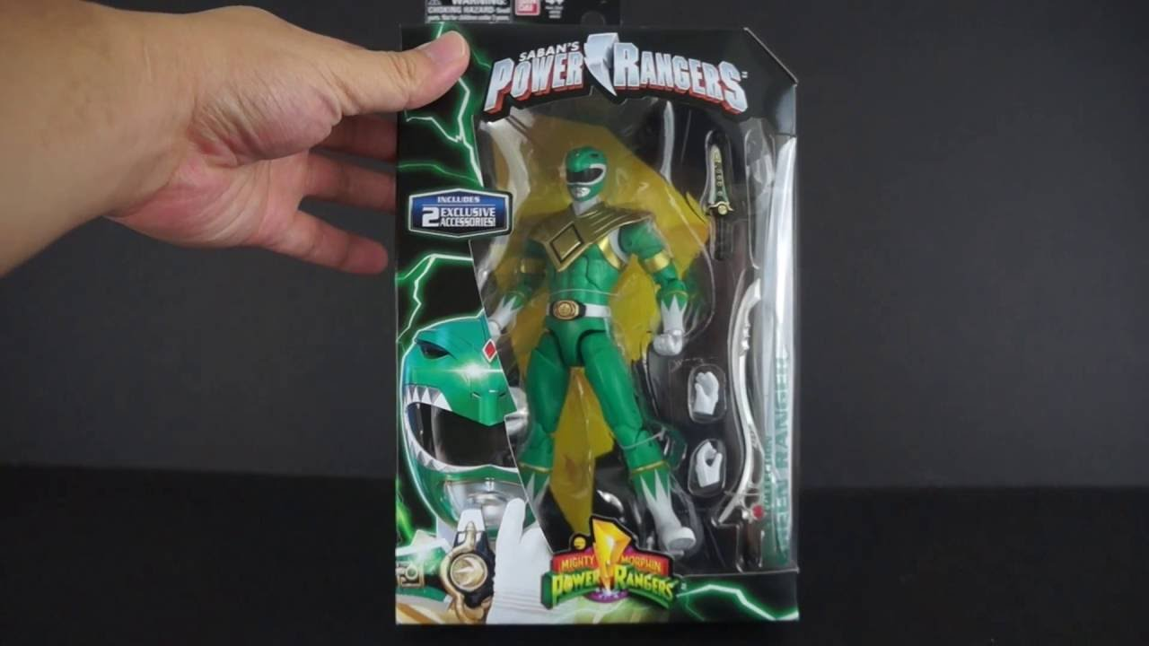 "New Bandai Mighty Morphin Power Rangers Legacy Green Ranger 6.5/"" Action Figure"