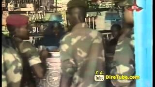 Close Up Ethiopian Troops In Peace Keeping Mission In Somalia