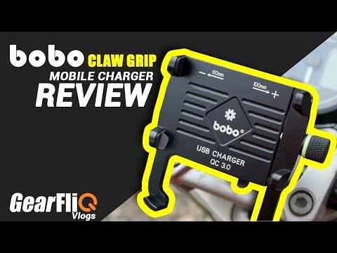 BOBO Claw-Grip Mobile Charger (Aluminium) - Review | GearFliQ