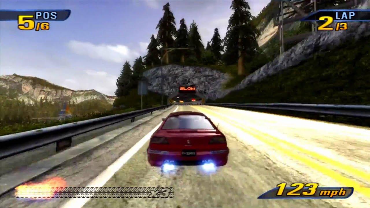 Burnout 3 takedown- Xbox 360- HD PVR