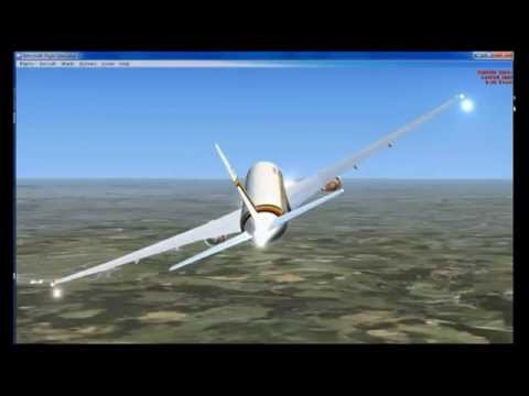 FSX   Air Zimbabwe 777   Gatwick to Heathrow   2014 07 22  12 49 25   Start   Flight