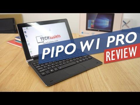 Pipo W1 Pro Review - Atom X5 Z8350 Windows 10 Tablet PC