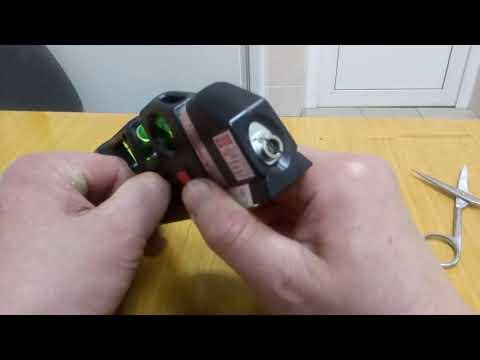 Лазерный уровень с рулеткой с Joom джум