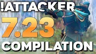 !Attacker BEST Kunkka in Dota 2 - EPIC 7.23 Patch Gameplay Compilation