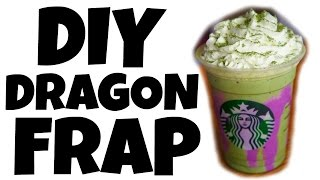 DIY DRAGON FRAPPUCCINO - Starbucks off menu recipe