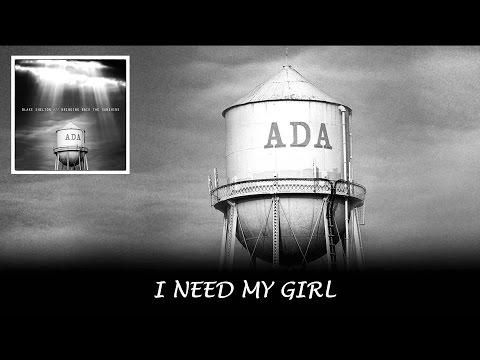 Blake Shelton - I Need My Girl (Lyrics Video)