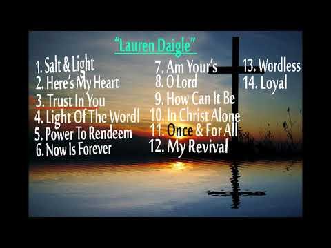 Album Track ''LAUREN DAIGLE''
